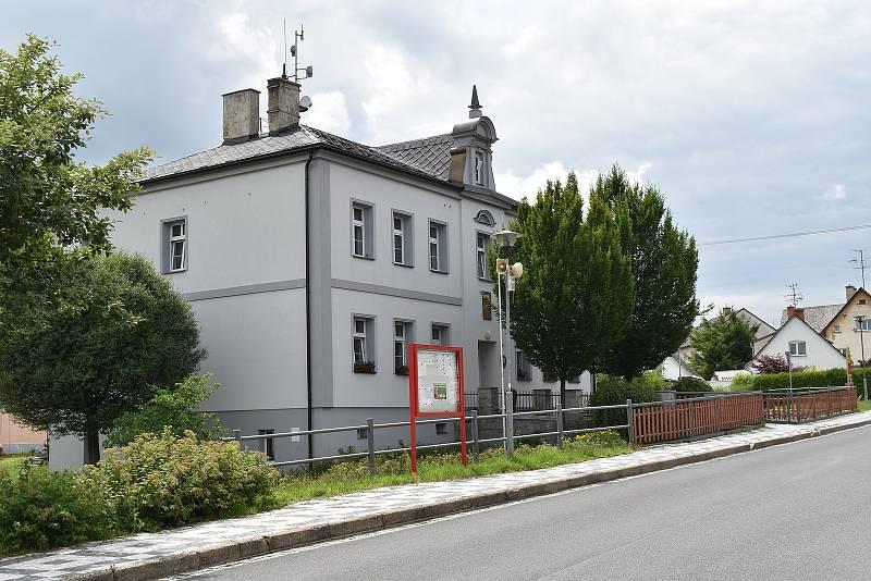 Supíkovice - obecní úřad.