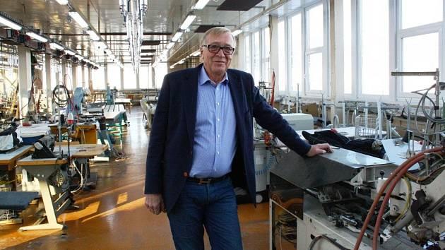 Jednatel společnosti Tex Trading Cavaliere Jan Frick.