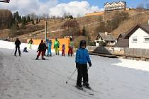 Jarní lyžování ve středu 8. března v Branné.