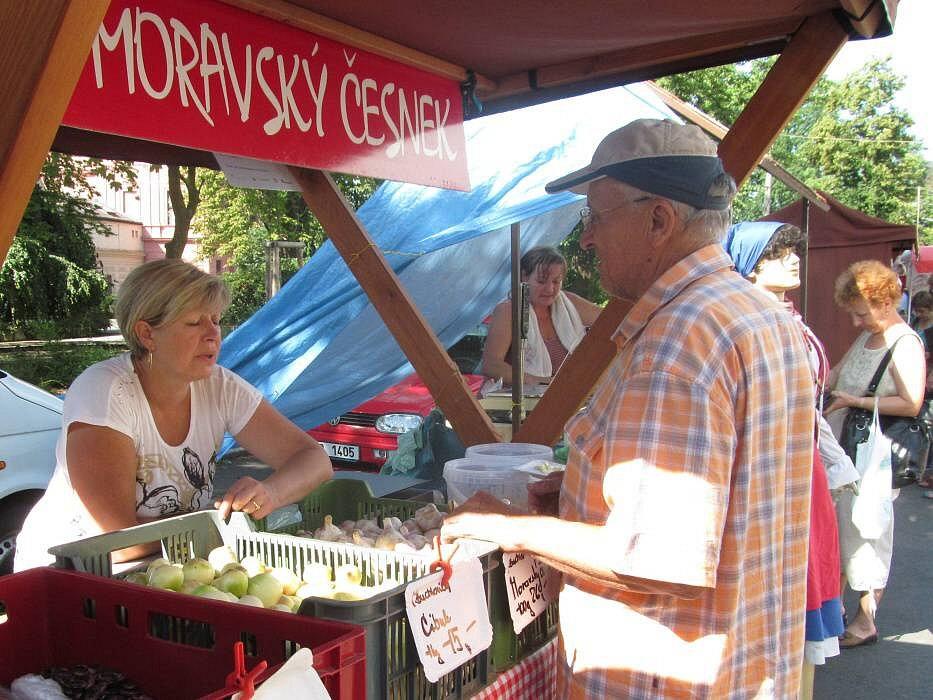 Farmářské trhy v Šumperku