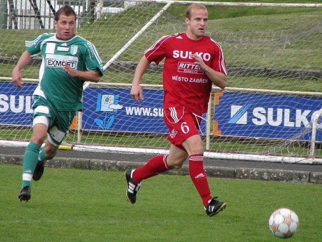Zábřeh - Bystrc, Zábřeh červené dresy.