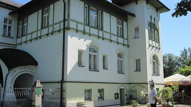 Habermannova Vila v Bludově