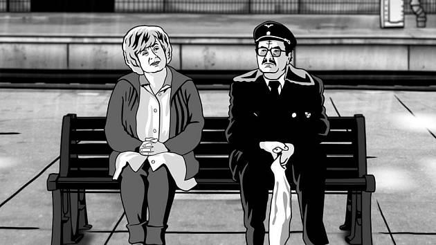Snímek z filmu Alois Nebel