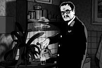 Snímky z filmu Alois Nebel, který bude mít předpremiéru 20. září v Jeseníku