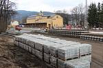 Rekonstrukce nádraží v Jeseníku - 7. dubna 2016