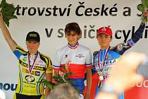 Martina Sáblíková vyhrála v Šumperku český šampionát v cyklistické časovce