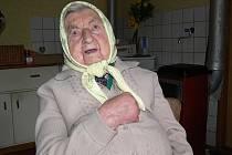 Marie Hašková ze Svébohova slavila 103. narozeniny