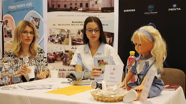 Burza práce a vzdělávání 2018 v Šumperku