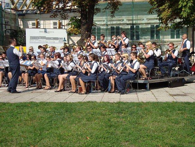 Dechový orchestr z Jeseníku