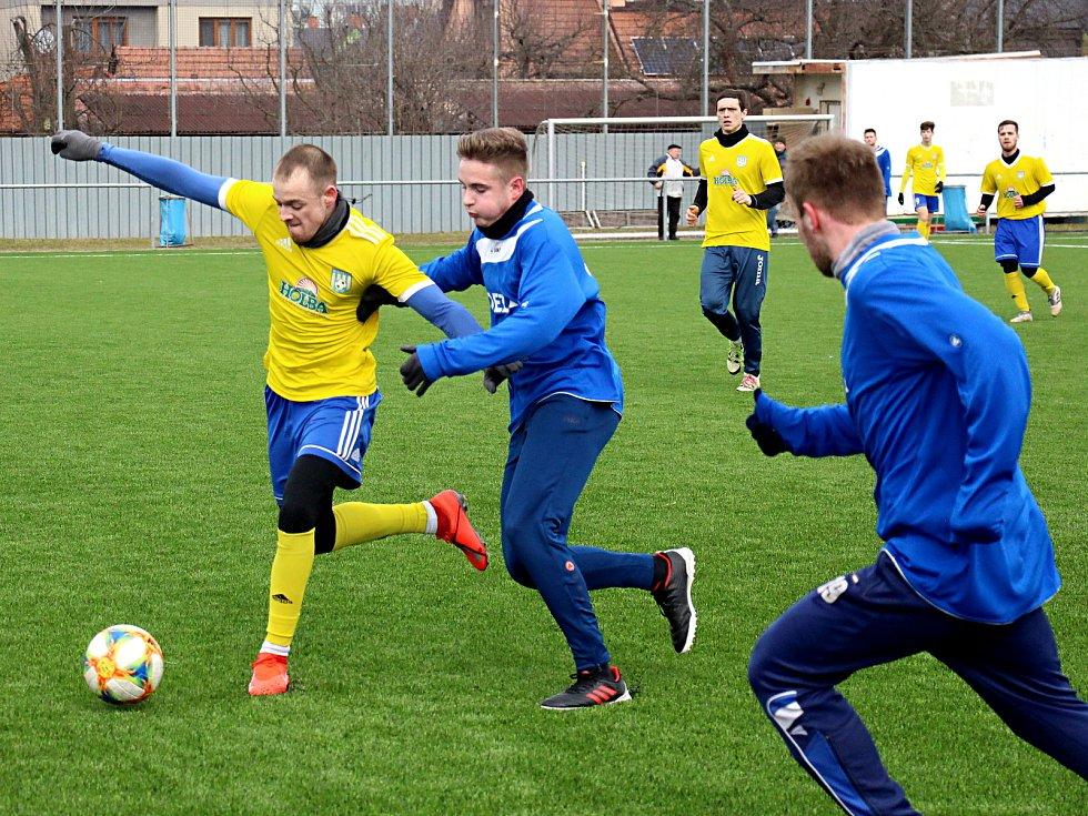 Fotbalisté Šumperku v sobotní přípravě proti Letohradu