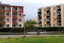 Sídliště okolo Stanislavovy ulice v Mohelnici.