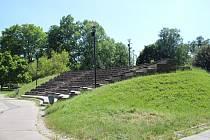 Amfiteátr v sadech 1. máje v Šumperku
