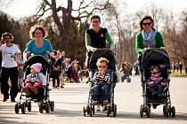 Rychlá chůze s kočárky nese anglické pojmenování strollering. V sobotu 28. března uspořádají závody kočárků i v Lošticích.