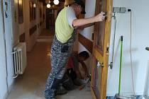 Renovace v prostorách Domu kultury Šumperk