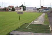 Atletický ovál a plochy pro atletické sporty na zábřežském stadionu čeká rekonstrukce.