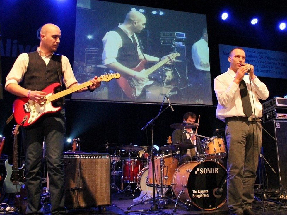 Páteční koncert Blues Alive 2012.