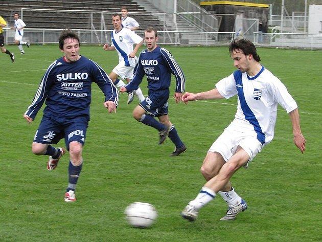 Fotbalisté Zábřehu vyhráli na půdě favorita.