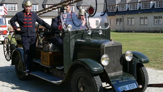 Sbor dobrovolných hasičů z Temenice v sobotu 6. září oslavil 135. výročí založení.