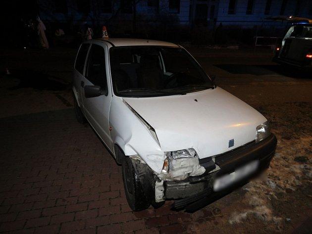 Nehoda v Libině.