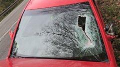 Nehoda 19leté řidičky mezi Mohelnicí a Studenou Loučkou