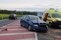 Nehoda na Bludovském kopci - 28. dubna 2019