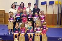 Společné foto gymnastek
