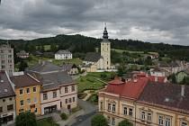 Staroměstští zpřístupnili věž radnice, odkud se mohou turisté rozhlédnout po okolí.