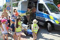 Prezentační akce Den Policie ČR v Šumperku.
