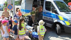 Prezentační akce Den Policie ČR v Šumperku