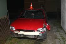 Policie hledá řidiče, který havaroval v Lipové-lázni.