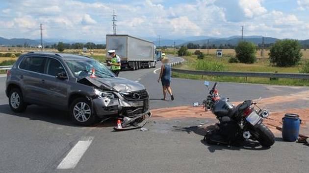 Nehoda u Zábřehu
