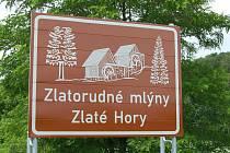 Olomoucký kraj nechal na Šumpersku a Jesenicku informačními tabulemi označit desítku turistických zajímavostí