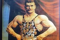 Gustav Frištenský na plakátu