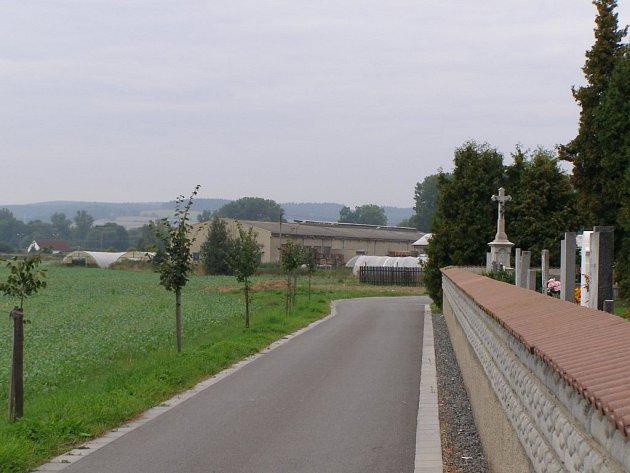 Na tomto poli za leštinským hřbitovem poblíž silnice směrem na Vitošov zavraždilo v květnu 1945 trestné  komando nevinné německé civilisty.