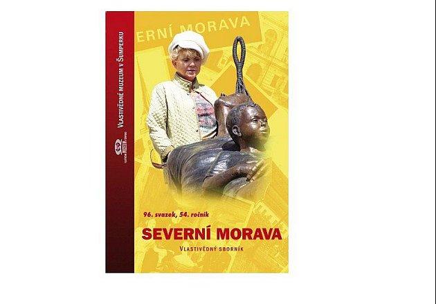 Vlastivědný sborník Severní Morava: na obálce sborníku je proslulá kanadská sochařká českého původu Lea Vivot