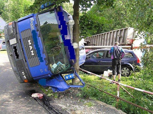 Neuvěřitelná nehoda v Ostružné