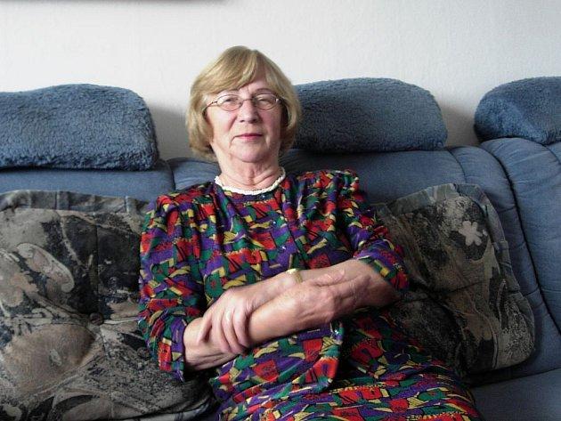 Hedvika Rašková bude nadále pomáhat zrakově postiženým  lidem.
