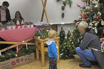 Vánoční výstava na SŠSPaS v Zábřehu