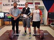 Šumperský vzpěrač Ladislav Pliska (vpravo) je před mistrovstvím světa v Barceloně ve skvělé formě.