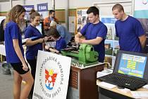 Burza práce na šumperském gymnáziu