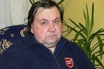 pan Jiří našel zázemí v šumpreské ubytovně Armády spásy.