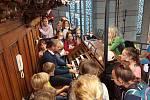 Žáci ze Základní umělecké školy v Šumperku na výletě v Olomouci.