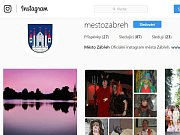 Instagramový profil zábřežské radnice