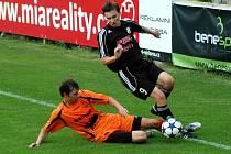 HFK Olomouc versus Sulko Zábřeh (oranžové dresy)