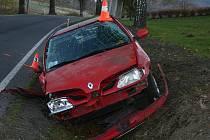 Nehoda renaultu u Žulové