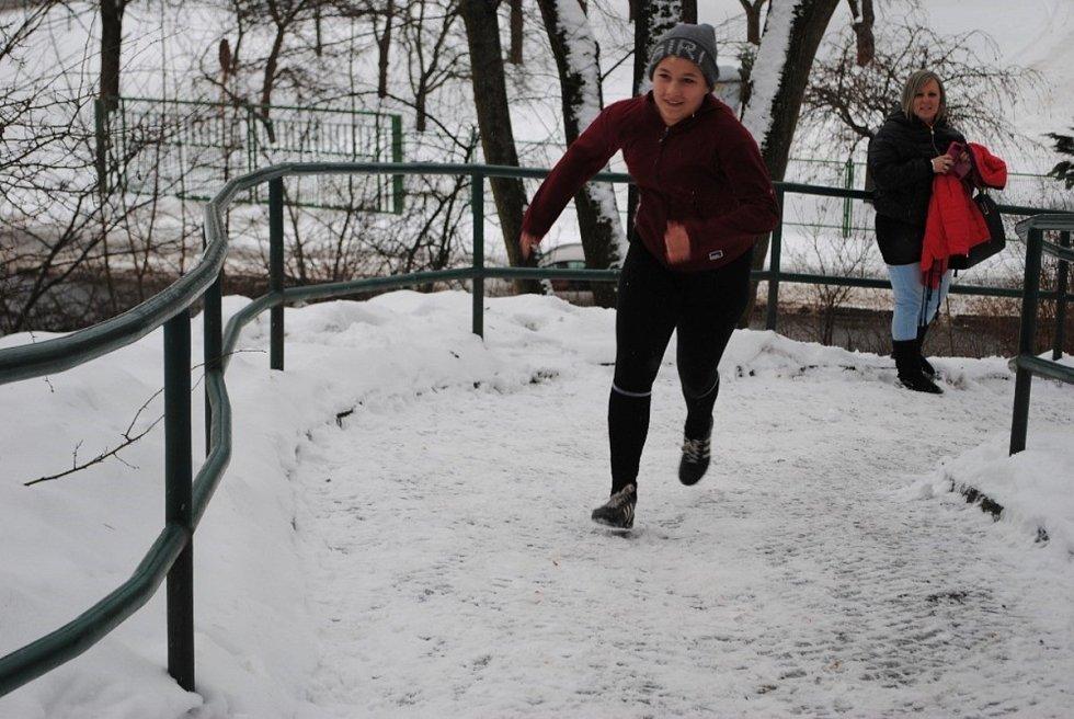 Běh do zámecké brány