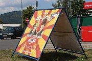 V Šumperku v těchto dnech hostuje cirkus Jo-joo. Láká na vystoupení šelem.