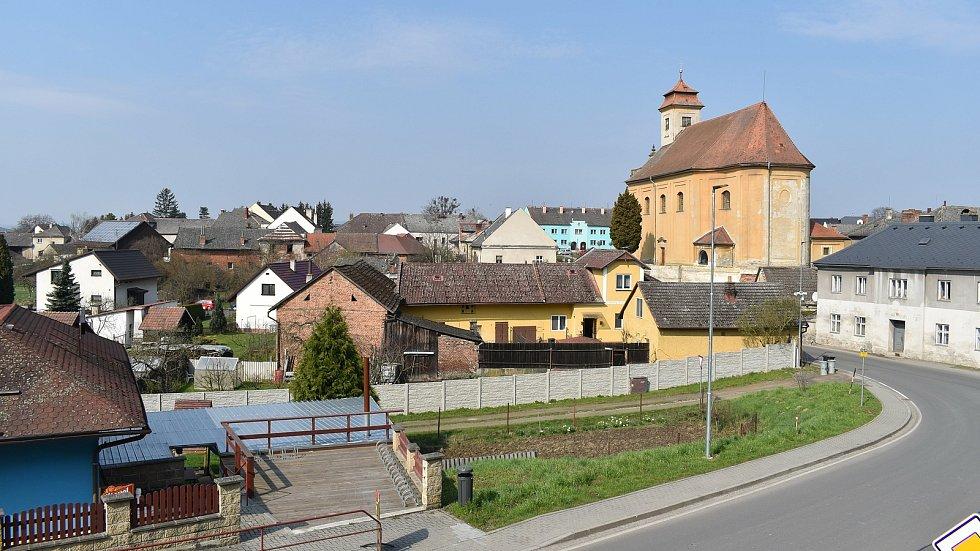 Město Úsov - pohled na město