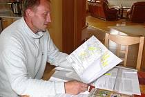 Radek Heger z Rovenska  již několik měsíců shromažďuje informace o problematice bioplynových stanic