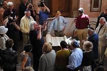 Bat micva v loštické synagoze